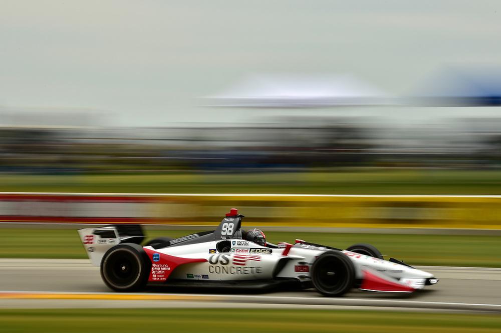 Marco Andretti, Herta - Andretti Autosport Honda<br /> Friday 22 June 2018<br /> KOHLER Grand Prix at Road America<br /> Verizon IndyCar Series<br /> Road America WI USA<br /> World Copyright: Scott R LePage