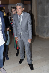 May 3, 2019 - Madrid, Spain - Manuel Santana to the party  presentation of the Mutua Madrid Open 2019, at the Prado Museum in Madrid, Spain, 03 May 2019. The Mutua Madrid Open runs from 3 until 12 May 2019. (Credit Image: © Oscar Gonzalez/NurPhoto via ZUMA Press)