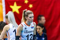16-10-2018 JPN: World Championship Volleyball Women day 17, Nagoya<br /> Netherlands - China 1-3 / Britt Bongaerts #12 of Netherlands