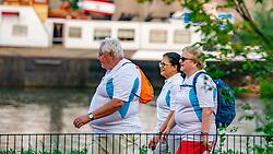 """26-08-2019 NED: Nationale Diabetes Challenge, Vianen<br /> De Nationale Diabetes Challenge is een 20 weken durend wandelevenement dat de kwaliteit van leven van mensen met diabetes verbetert. Met ondersteuning van de BvdGF organiseren lokale zorg- en sportprofessionals wekelijks een wandeling. Het NDC festival, """"dé finaledag"""", vindt plaats op 28 september 2019 in Den Haag."""