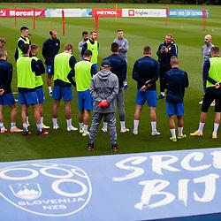 20210830: SLO, Football - Slovenian national team practice session