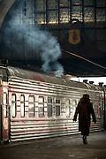 Yaroslavsky railway station, Moscow, Russia