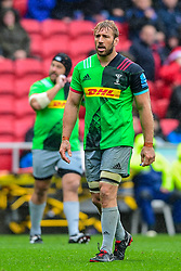 Chris Robshaw of Harlequins - Mandatory by-line: Ryan Hiscott/JMP - 22/09/2018 - RUGBY - Ashton Gate Stadium - Bristol, England - Bristol Bears v Harlequins - Gallagher Premiership Rugby