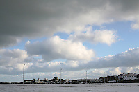 Seafront at Sandycove Dublin in the snow November 2010