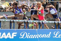 adidas Grand Prix Diamond League Track & Field: womens 100m Hurdles, Porter, Jones, Williams
