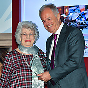 Winner of Churchill Owner – Maureen Westwood of the 7th annual Churchill Awards honour achievements of the Over 65's at Claridge's Hotel on 10 March 2019, London, UK.
