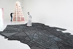 Beirut Caoutchouc by Marwan Rachmaoui at Mathaf: Arab Museum of Modern Art, Doha , Qatar.