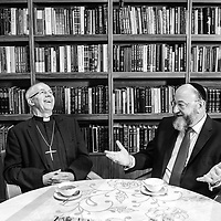 Chief Rabbi Hosts Archbishop of Canterbury
