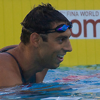 Milorad Cavic (SRB) competes in 100 Men's Butterfly swimming competition during the 13th FINA Swimming World Championships held in Rome, Italy. Friday, 31. July 2009. ATTILA VOLGYI