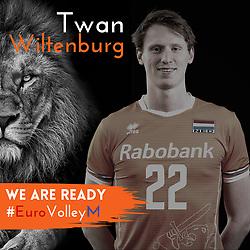 Twan Wiltenburg of Netherlands, Photoshoot selection of Orange men's volleybal team season 2021on may 11, 2021 in Arnhem, Netherlands (Photo by RHF Agency/Ronald Hoogendoorn)