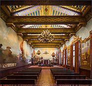 Mural Room at Santa Barbara Courthouse