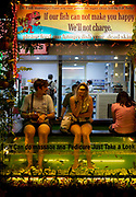 The fish pedicure on the high street of Siem Reap, involving dunking your feet in a tank filled with garra rufa fish that nibble off the dry skin.