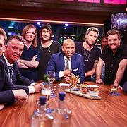 NLD/Amsterdam/20180608 - Laatste uitzending van Late Night met Humberto Tan , Humberto Tan met zijn gasten Louis van Gaal en Luuk Ikink, John de Mol, Armin van Buuren, en de band Kensington