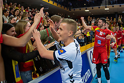 17-02-2019 NED: National Cupfinal Draisma Dynamo - Abiant Lycurgus, Zwolle<br /> Dynamo surprises national champion Lycurgus in cup final and beats them 3-1 / Maikel van Zeist #10 of Dynamo