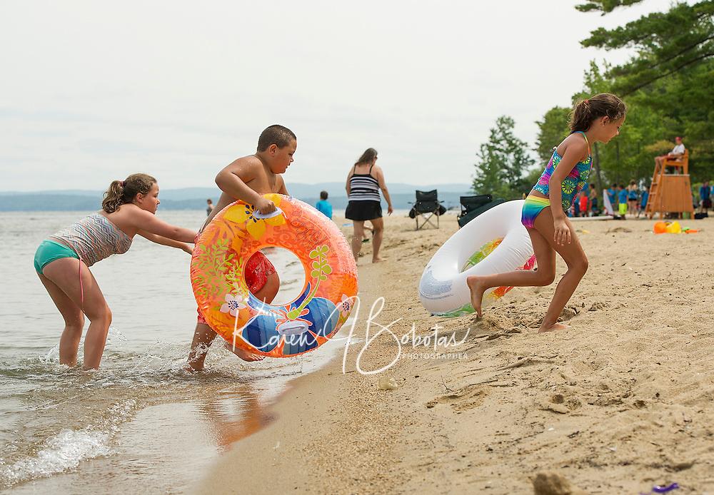 Summer fun at Ellacoya State Beach and Weirs Beach.  Karen Bobotas for the Laconia Daily Sun