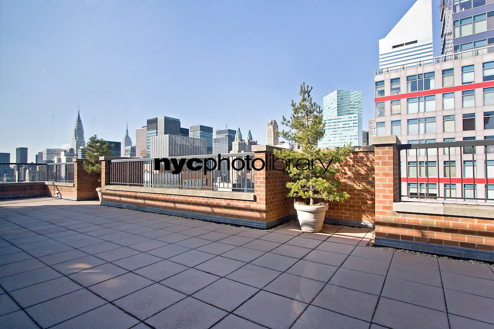 Roof Deck at 300 East 54th St, Manhattan, NY