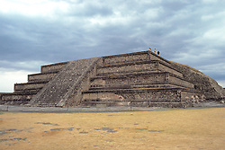 The Remains of the Ancient City of Teotihuacán