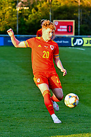Football - 2023 UEFA U21 Championship - Qualifying - Group E - Wales vs Moldova - Steboneath Park, Llanelli<br /> <br /> Sameel Pearson Wales on the attack<br /> <br /> COLORSPORT/WINSTON BYNORTH