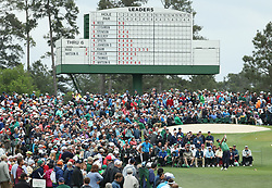 April 7, 2018 - Augusta, GA, USA - Marc Leishman hits from the 3rd tee during the third round of the Masters Tournament on Saturday, April 7, 2018, at Augusta National Golf Club in Augusta, Ga. (Credit Image: © Jason Getz/TNS via ZUMA Wire)