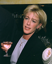 LADY COSIMA SOMERSET, at a party in London on 22nd October 1997.MCJ 44