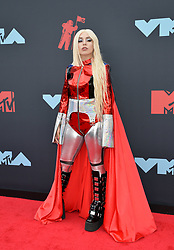 August 26, 2019, New York, New York, United States: Ava Max arriving at the 2019 MTV Video Music Awards at the Prudential Center on August 26, 2019 in Newark, New Jersey  (Credit Image: © Kristin Callahan/Ace Pictures via ZUMA Press)