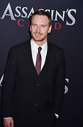 Michael Fassbender attends the Assassin's Creed premiere at AMC Empire 25 theater on December 13, 2016 in New York City, NY, USA. Photo by MM/ABACAPRESS.COM
