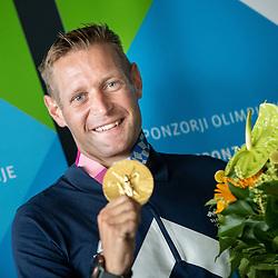 20210728: SLO, Kayak & Canoe - Reception of Benjamin Savsek, Olympic gold medalist