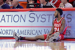 11 February 2017:  Alex Foster during a College MVC (Missouri Valley conference) mens basketball game between the Bradley Braves and Illinois State Redbirds in  Redbird Arena, Normal IL
