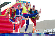 The Pirate Ship children's play at the 2011 Kentucky state fair. Kentucky, USA