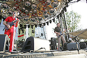 Franz Ferdinand performs during the third day of the 2007 Bonnaroo Music & Arts Festival on June 16, 2006 in Manchester, Tennessee. The four-day music festival features a variety of musical acts, arts and comedians..Photo by Bryan Rinnert