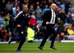 Burnley manager Sean Dyche runs across the pitch at Turf Moor - Mandatory by-line: Robbie Stephenson/JMP - 10/09/2017 - FOOTBALL - Turf Moor - Burnley, England - Burnley v Crystal Palace - Premier League