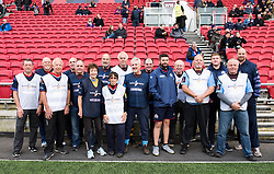 Members of Active Ageing at Ashton Gate Stadium for Bristol v Doncaster - Mandatory by-line: Paul Knight/JMP - 22/10/2017 - RUGBY - Ashton Gate Stadium - Bristol, England - Bristol Rugby v Doncaster Knights - B&I Cup