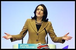 Northern Ireland Secretary Theresa Villiers speaking  at the Conservative Party Conference in Birmingham, Monday, 8th October October 2012. Photo by: Stephen Lock / i-ImagesNorthern Ireland Secretary Theresa Villiers speaking  at the Conservative Party Conference in Birmingham, Monday, 8th October October 2012. Photo by: Stephen Lock / i-Images