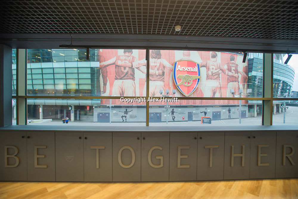 Arsenal Football Club Chapman House offices at The Emirates Stadium in North London. Documenting Interior design work undertaken by 442 Design.<br /> <br /> picture by Alex Hewitt<br /> alex.hewitt@gmail.com<br /> 07789 871 540