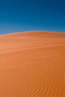 Large red sand dune, Sossusvlei, Namib-Naukluft National Park, Namib desert, Namibia