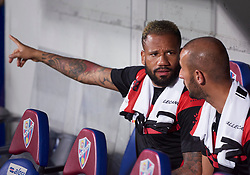 September 14, 2018 - Huesca, U.S. - HUESCA, SPAIN - SEPTEMBER 14: BebŽ forward of Rayo Vallecano de Madrid looks on prior the La Liga game between SD Huesca and Rayo Vallecano de Madrid  at Estadio El Alcoraz on September 14, 2018, in Huesca, Spain. (Photo by Carlos Sanchez Martinez/Icon Sportswire) (Credit Image: © Carlos Sanchez Martinez/Icon SMI via ZUMA Press)