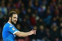 Gonzalo Higuain Napoli,  <br /> Napoli 05-03-2016 Stadio San Paolo<br /> Football Calcio Serie A 2015/2016 Napoli - Chievo<br /> Foto Cesare Purini / Insidefoto
