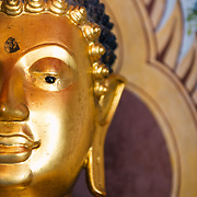 Gold buddha statue at Wat Phra That Doi Suthep, Chaing Mai