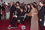 Actor and comedian Richard Pryor his daughter Rain Pryor, wife Jennifer Lee Pryor and his daughter Elizabeth Pryor during arrivals at the first Mark Twain Prize for Humor at the Kennedy Center October 20, 1998 in Washington, DC. Pryor is the recipient of the first Twain Prize.