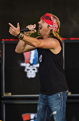 LONG BEACH, CA - APR 20: Bret Michaels performed a solid set at the 2013 Toyota Grand Prix of Long Beach. All fees must be agreed prior to publication,.Byline and/or web usage link must  read  PHOTO: SilvexPhoto.com