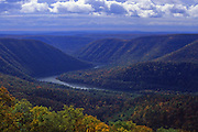 PA, panoramic view, Susquehanna River, Hyner View State Park