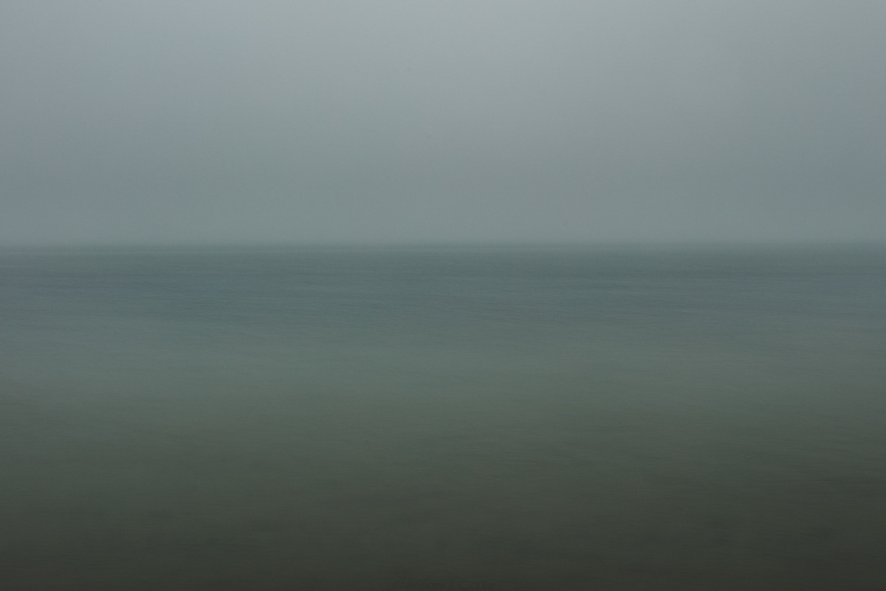 The serene flow of ocean water off the coast of Miacomet.
