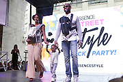 13 September-Brooklyn, New York: Models attend the Essence Street Style Block Party held at The Dumbo Archway Under the Manhattan Bridge on September 13, 2015 in the DUMBO section of Brooklyn, New York.   (Photo by Terrence Jennings/terrencejennings.com)