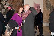MARYAM SACHS; FRANCESCO CLEMENTE; , Mandala for Crusoe, Exhibition of work by Francesco Clemente. Blain/Southern. Hanover Sq. London. 29 November 2012