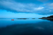 Fishing Boat at Dusk - Isle of Jura, Scotland