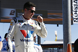 September 14, 2018 - Las Vegas, Nevada, United States of America - Alex Bowman (88) hangs out on pit road before qualifying for the South Point 400 at Las Vegas Motor Speedway in Las Vegas, Nevada. (Credit Image: © Chris Owens Asp Inc/ASP via ZUMA Wire)