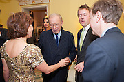 SIR DAVID FROST, Tatler magazine Jubilee party with Thomas Pink. The Ritz, Piccadilly. London. 2 May 2012