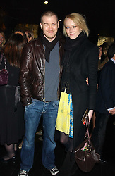 Model JADE PARFITT and TOBY BURGESS at a preview of Lulu Guinness's new Handbag Collection ' Couture' held at Aviva, Baglioni Hotel, 60 Hyde Park Gate, London SW7 on 15th February 2006.<br /><br />NON EXCLUSIVE - WORLD RIGHTS