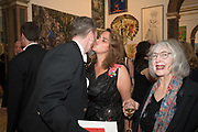 GARY WATERSTON,, TRACEY EMIN,, 2019 Royal Academy Annual dinner, Piccadilly, London.  3 June 2019