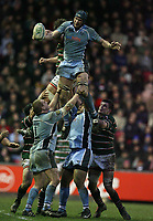Photo: Rich Eaton.<br /> <br /> Leicester Tigers v Cardiff Blues. Heineken Cup. 13/01/2007. Ben White wins line out ball for Cardiff